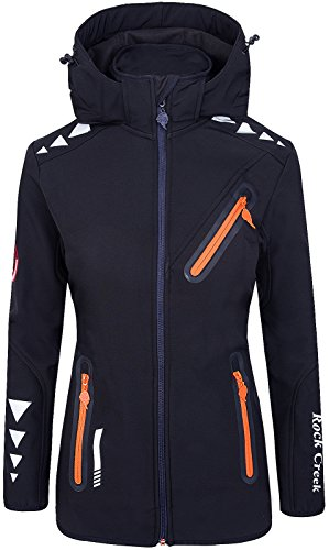 Rock Creek Damen Softshell Jacke RC-10 [Navy XXL]
