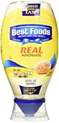 Enjoy the delicious creamy taste of best foods real mayonnaise in a convenient squeeze pack Best foods unique squeeze bottle, with clean lock cap and precision tip, lets you squeeze with ease, and gives you the control to get your mayonnaise exactly ...