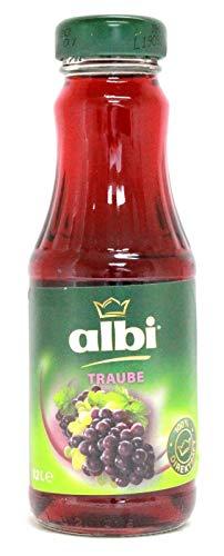 Albi Traubensaft Rot, 12er Pack (12 x 0,2 l)