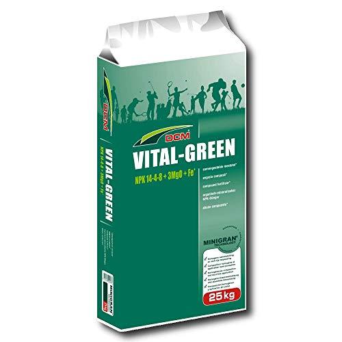 DCM Professionnel Engrais à gazon sport Vital-Green, 25 kg