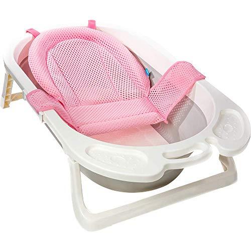 Rede De Protecao Para Banho Baby - BUBA, Rosa