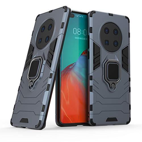 JIAHENG Caja del teléfono Huawei Mate 40 Pro Caja de teléfono, Caja de Smartphone del Anillo de rotación de 360 Grados, Cubierta del Titular de la Caja del teléfono a Prueba de Golpes p