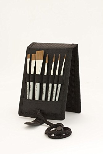 Jack Richeson 713995 Watermedia Pocket Plein Air Brush Set