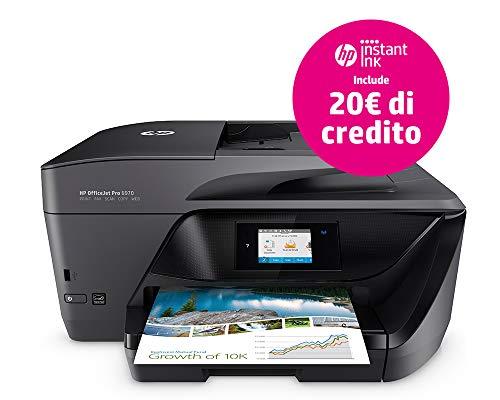 HP OfficeJet Pro Pro 6970 - Impresora multifunción (inyección de Tinta térmica, Color, copiar, fax, Imprimir, escanear)