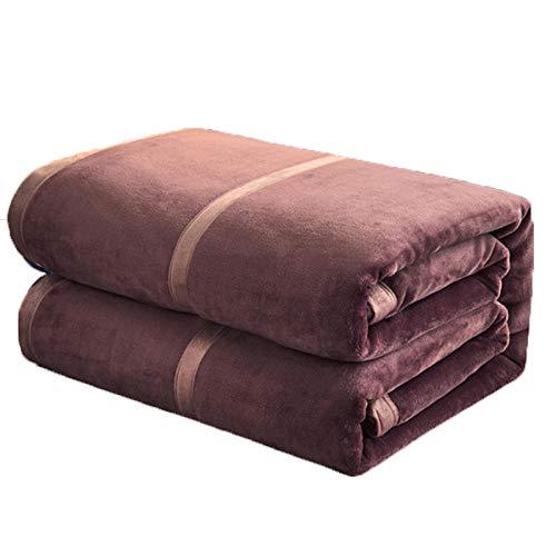 Zachte Flanel Fleece Gooi Dekens, Fleece Dekens Bedsprei King Size Extra Groot Bed Fleece Dekens Super Zachte Pluizige Warme Microfiber Effen Deken