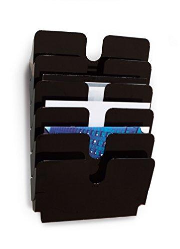 Durable 1700014061 Prospektspenderset (Querformat Flexiplus 6, A4) 1 Set schwarz