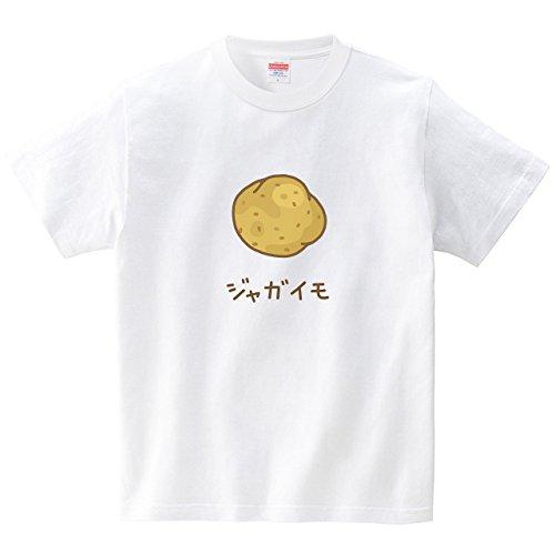 [itaxes] ジャガイモ(Tシャツ・ホワイト)(Mサイズ) (tsukamotojunko)