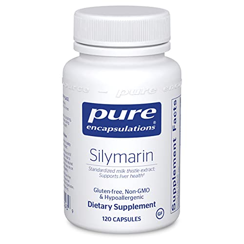 Pure Encapsulations Silymarin | Milk Thistle Extract Supplement for Liver Support and Antioxidant Activity* | 120 Capsules