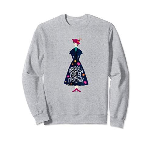 Disney Mary Poppins Returns Practically Perfect Sudadera