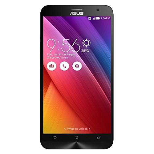 ASUS ZenFone 2 ZE551ML 14 cm (5.5 Zoll) 4 GB 64 GB Dual-SIM 4G Schwarz 3000 mAh - Smartphones (14 cm (5.5 Zoll), 4 GB, 64 GB, 13 MP, Android 5.0, Schwarz)