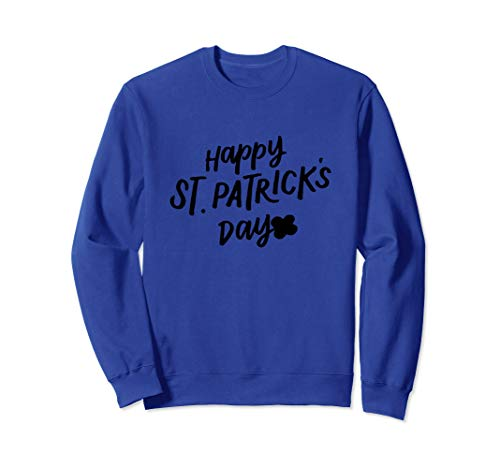 Happy St Saint Patricks Day Irish Clover Kleeblatt Jugend Sweatshirt