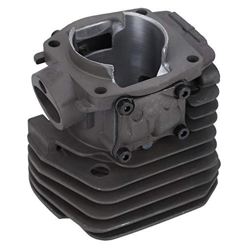 Kit de cojinete de pistón de cilindro, kit de pistón de cilindro de eficiencia mejorada, kit de válvula de liberación de compresión de junta para motosierra de gasolina Husqvarna 353