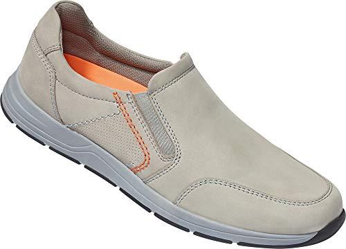 LERROS Herren Slipper, Lederschuhe für Männer, schrittdämpfende Antirutsch-Sohle, bequemes An- und Ausziehen, Schuhe ohne Schnürsenkel, Gr. 41-46