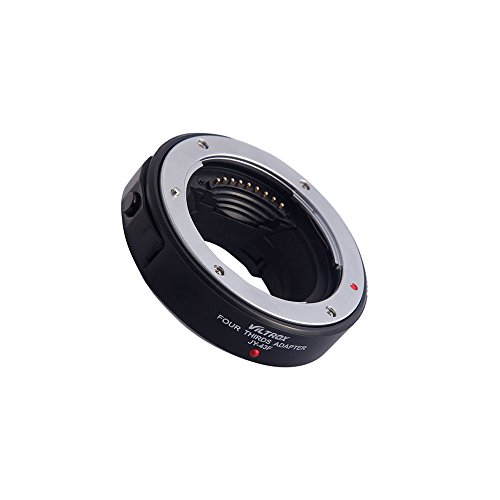 VILTROX製フォーサーズマウントレンズーマイクロフォーサーズマウント電子アダプター.JY43F Black