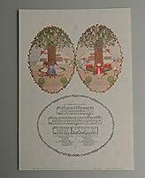 BiblioArt Series ヘンリエット・ウィルビーク・ル・メール 「マザー・グース」-3 額絵