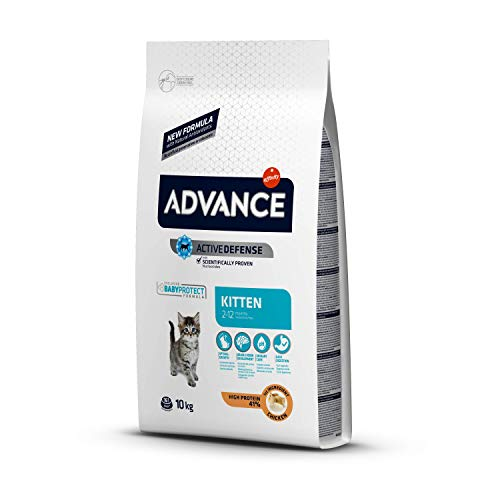 ADVANCE Kitten - Pienso para Gatitos - 10 Kg