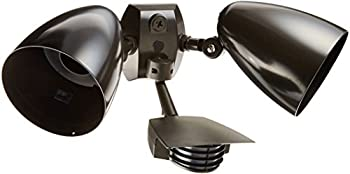 RAB Lighting STL200HB Stealth 200 Sensor with Twin Precision Die Cast HB101 Bullet Floods Aluminum 200 Degrees View Detection 1000W Power 120V Bronze Color