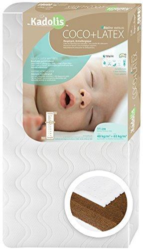 Kokoslatex Babymatratze 60 x 120 cm