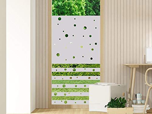 GrazDesign 220053 Raamfolie, zelfklevend, melkglasfolie, ondoorzichtig, privacyfolie 80x100cm (Breite x Höhe)