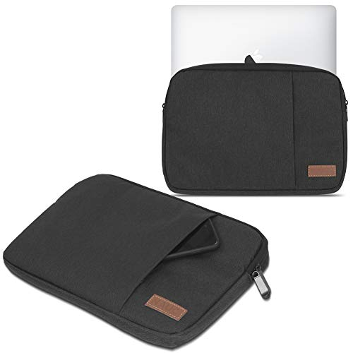 Schutz Tasche Notebook Schutzhülle Tablet Cover Hülle Laptop Ultrabook MacBook, Notebook:TrekStor SurfTab Duo W3 W2 W1, Farbe:Schwarz