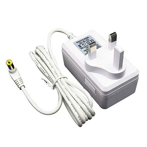 Junesun - Adaptador de corriente de 24 V y 0,65 A con indicador de iluminación para cámara de aroma, difuminar o humidificar