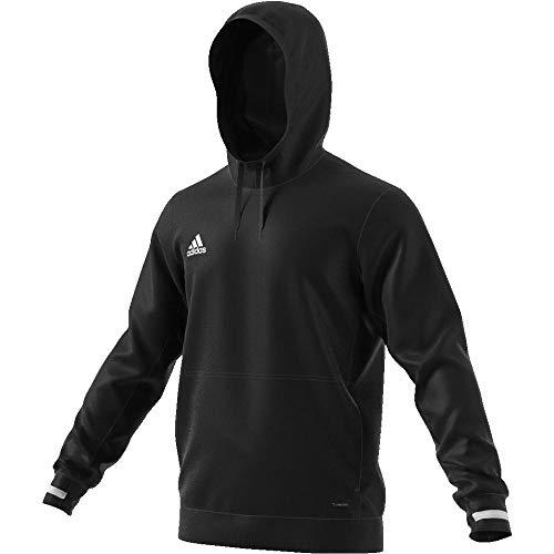 adidas Herren T19 Hoody M Sweatshirt, Black/White, M