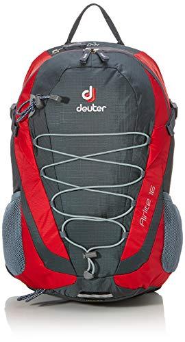Deuter Airlite 16 Casual Daypack, 46 cm, liters, Red (Granite-Fire)
