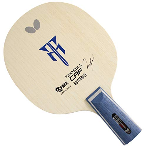 Butterfly Timo Boll CAF CS Table Tennis Blade - CS Control Assist Fiber Blade - Timo Boll CAF CS Blade - Professional Table Tennis Blade - CS Handle Style - Made in Japan