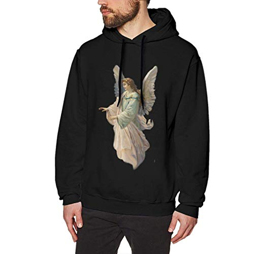 XCNGG Angel Mother Casual Fashion No Pockets Sudadera con Capucha para Hombre