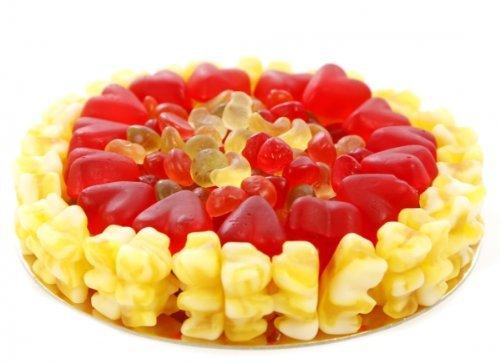 Fruchtgummi Torte Crazy 16cm Durchmesser Menge:600g