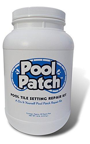 Pool Patch PTSRKG10 Gray Pool Tile Setting Repair Kit, 10-Pound