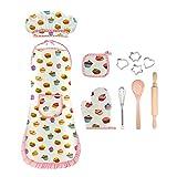 EUTOYZ 4-12 Jahre Mädchen Geschenk, Kinder Kochen Spielküche wasserdicht Backset Mädchen Spielzeug Mädchen 4-12 Jahre Mädchen Spielzeug(Weiß)