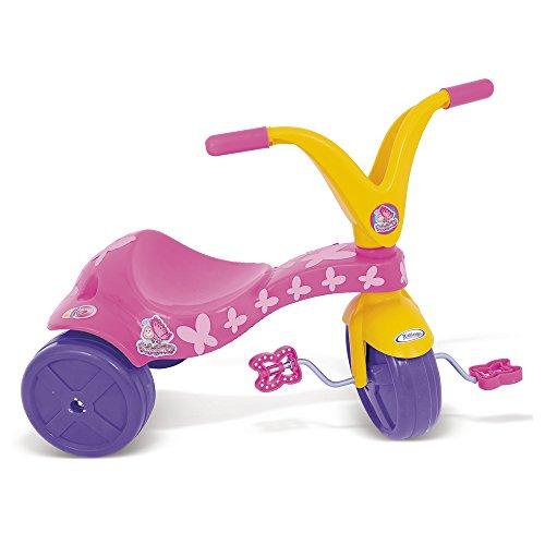 Triciclo Borboletinha Xalingo Rosa