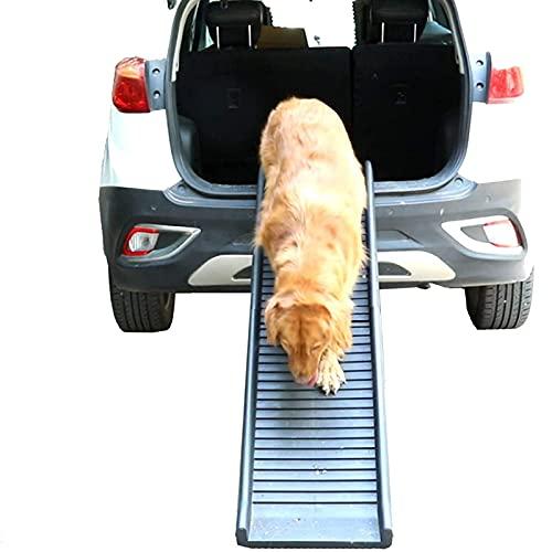 NXL Rampa Telescopica Compatta per Cani Rampa per Animali Domestici Adatto per Auto, Veicoli di Grandi Dimensioni Che Supporta I Tuoi Animali Domestici Fino A 75 kg