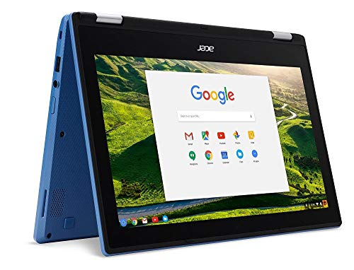 Acer Chromebook R11 CB5-132T-C67Q Touch Screen Chromebook with Intel Celeron N3060 Processor, 11.6' IPS Multitouch Screen 4GB Memory, 32GB SSD and Google Chrome OS