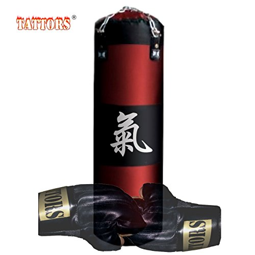 Tattors zandzak bokszak Power- Ki chi energie origineel 120cm met houder NIEUW