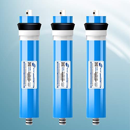 FILTER Sistemas De Filtración De Agua RO 100G Membrana Compatible con El Sistema De Filtración De Agua De Ósmosis Inversa De 5 Etapas para Consumo Doméstico
