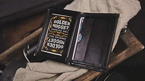 Z Fold Wallet 2.0 | The Himber Wallet by TCC aus schwarzen Kunstleder | Austausch-Brieftasche | Switch Device | Tauschen Sie Geldscheine, Karten oder Zettel direkt unter den Augen Ihrer Zuschauer aus