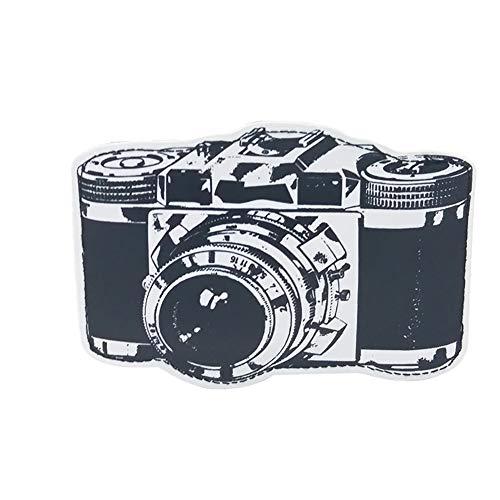 JUNGEN Billetero de Dibujos Animados Creativo Monedero cámara Retro Billetera pequeña para Tarjeta Foto Cartera de PU Bolsa de Almacenamiento Regalo de cumpleaños (Negro)