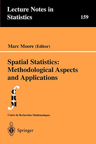 Spatial Statistics: Methodological Aspects and Applications (Lecture Notes in Statistics (159))の詳細を見る