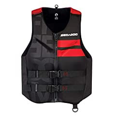 Ultra-durable ecoprene outer shell Combination of PVC and polyethylene foam inserts Comfortable fit YKKl front zipper Segmentations at front and back for better comfort and ease of movement