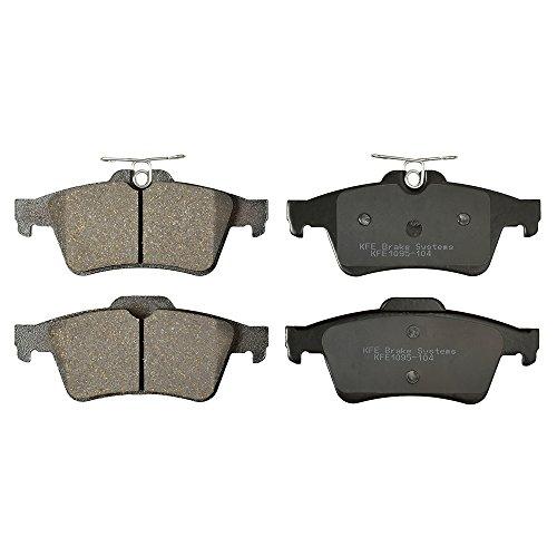 KFE KFE1095-104 Ultra Quiet Advanced Premium Ceramic Brake Pad REAR Set...