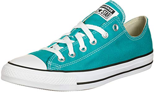 Converse Unisex CTAS Seasonal Color Low Sneaker Grün, Türkis, 36 EU