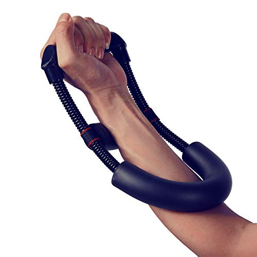 Sportneer Wrist Strengthener Forearm Exerciser Hand Developer Arm Hand Grip Workout Strength Trainer Home Gym Workout Equipment,Increase Muscle Strength & Physical Therapy, Minimum Tension 4 LBS