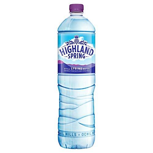 Producto nuevo. Highland A01057 - Agua mineral natural en botella de plástico (1,5 L, 12 unidades)