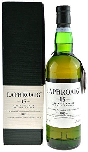 Rarität: Laphroaig Whisky 15 Jahre Originalabfüllung 0,7l mit Geschenkkarton
