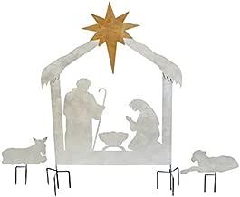 heavy metal nativity scene