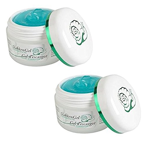 Lot 2 Gel Creme Bave Escargot 50ml Acnes Anti-age Peau Cicatrice - 466