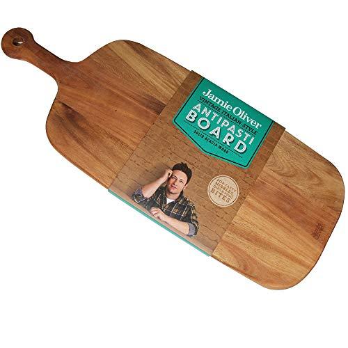 Jamie Oliver 554287 Antipasti Servierbrett Vintage Antipasti Akazie