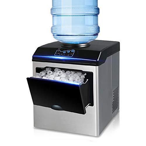 SUM Machine à glaçons + Distributeur d'eau Froide - 25 kg de glaçons en 24 Heures - Machine à glaçons...